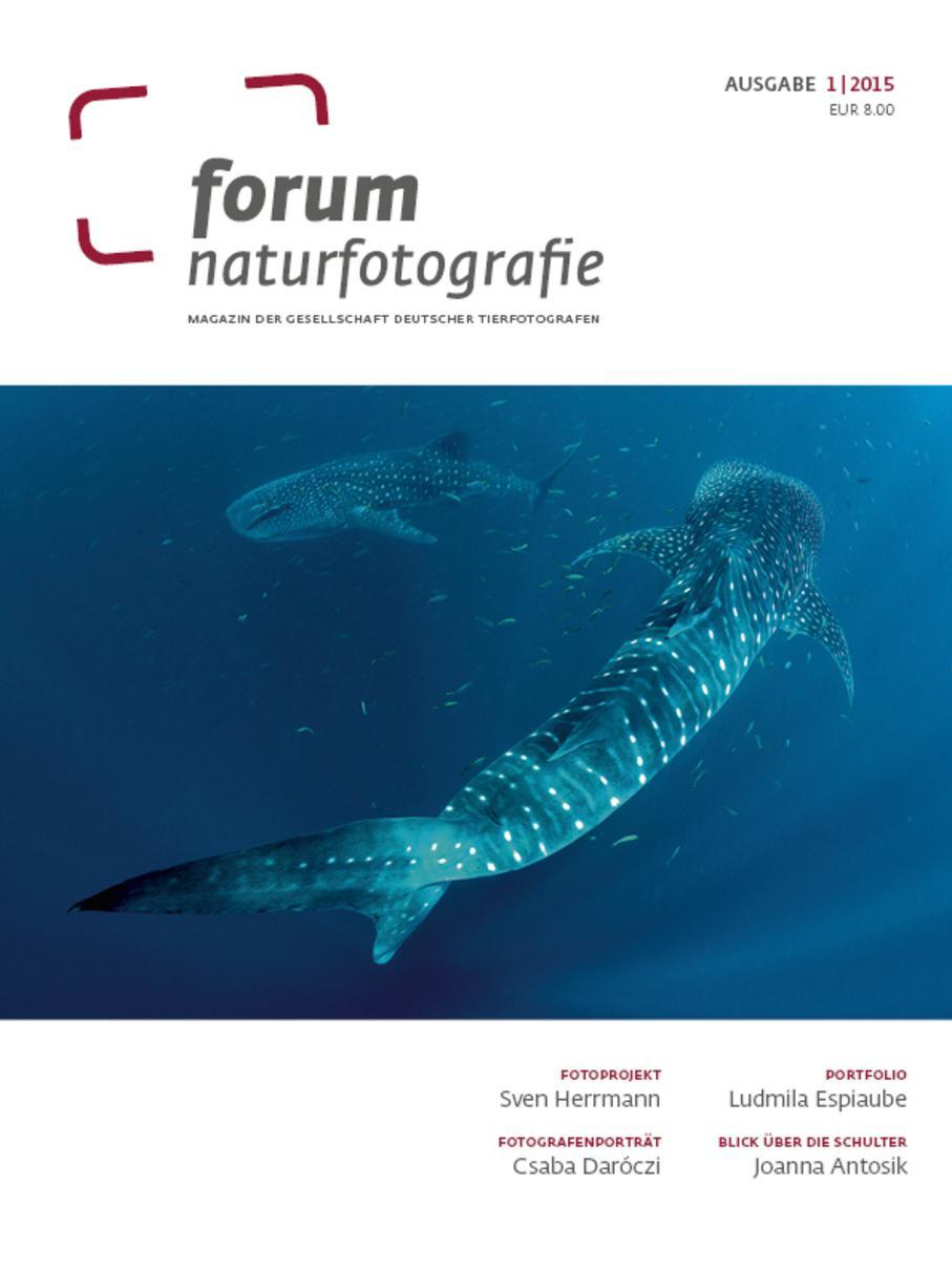 9 - Mars 2015, portfolio 6 pages dans le prestigieux magazine du GDT allemand